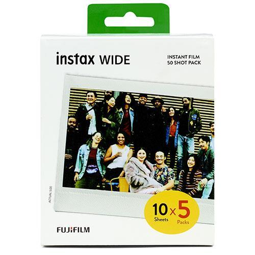 instax Wide Instant Film 50 Shot Pack