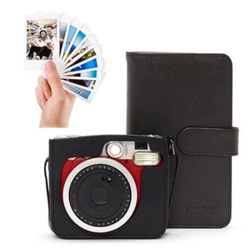 Instax Mini 90 Red Camera Bundle