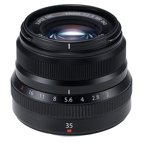 Fujifilm XF35mm f/2.0 R WR Lens in Black
