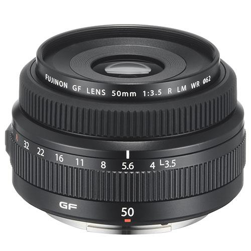 Fujifilm GF50mm F/3.5 R LM WR Lens