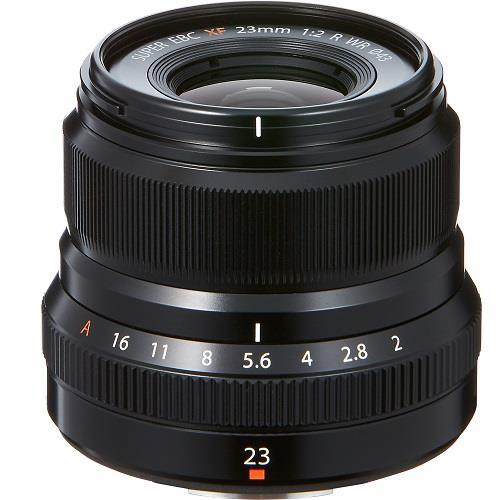 Fujifilm XF23mm f/2 R WR Lens in Black