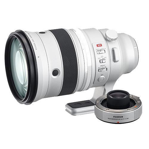Fujifilm XF200mm f/2 R LM OIS WR Lens and XF1.4X TC f/2 WR Teleconverter - Ex-Display