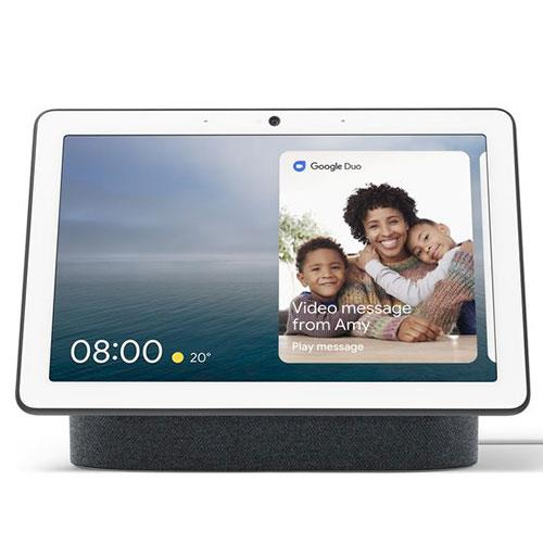 Google Nest Hub Max in Charcoal