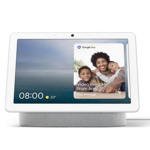 Google Nest Hub Max in Chalk