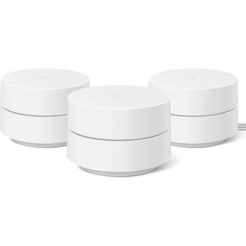 Google WiFi Mesh System (2021) - 3 pack