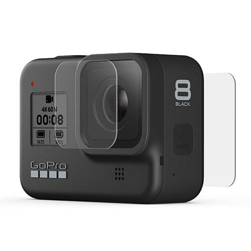 GoPro Tempered Glass Lens and Screen Protectors for the HERO8 Black
