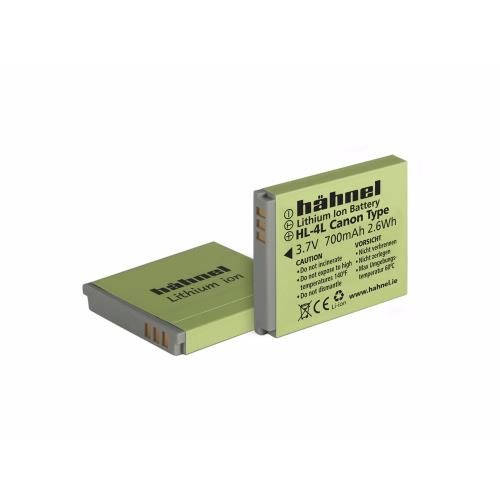 Hahnel HL-4L Li-ion Battery (Canon NB-4L)