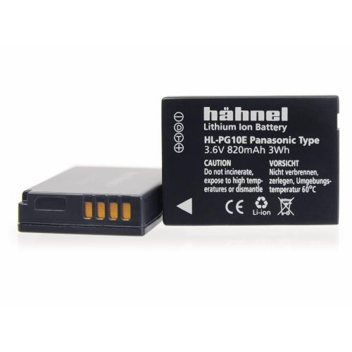 Hahnel HL-PG10E Battery for Panasonic (DMW-BCG10)
