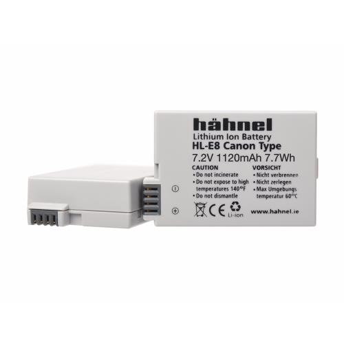 Hahnel HL-E8 Battery - Replacement for  Canon LP-E8