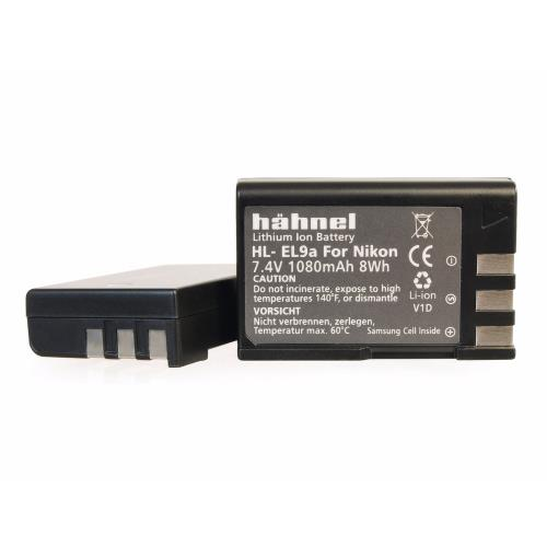 Hahnel HL-EL9a Battery for Nikon EN-EL9a