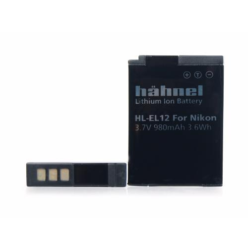 Hahnel HL-EL12 Li-ion Replacement Battery for Nikon EN-EL12