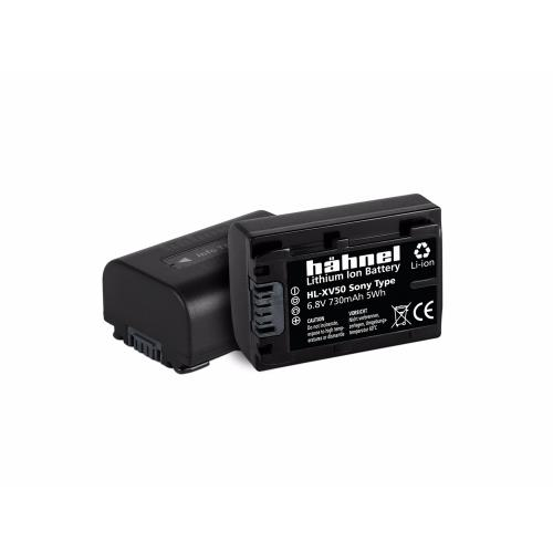 Hahnel HL-XV50 Battery for Sony Camcorders - NP-FV50 Fit