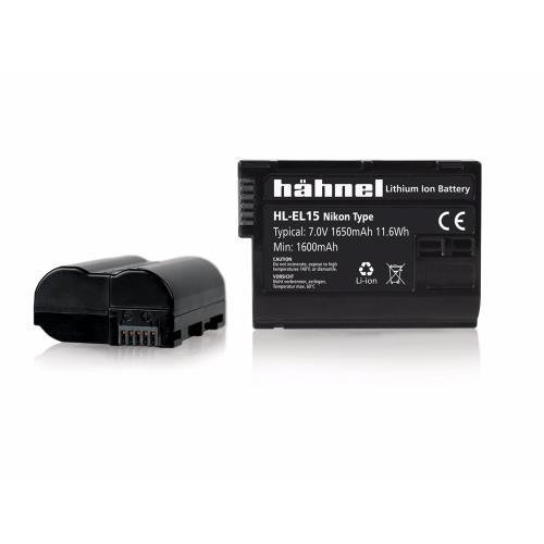 Hahnel HL-EL15a/b Battery Replacement for Nikon EN-EL15