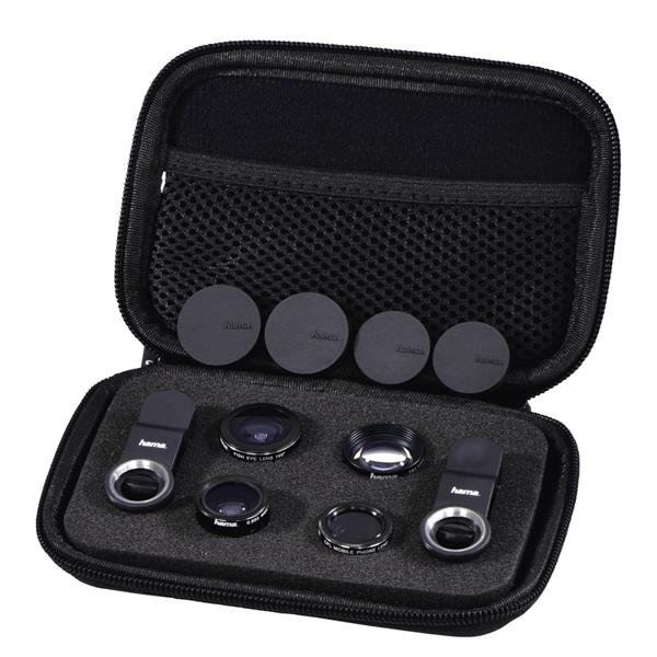 Hama 5 in1 Universal Lens Kit for Smartphones