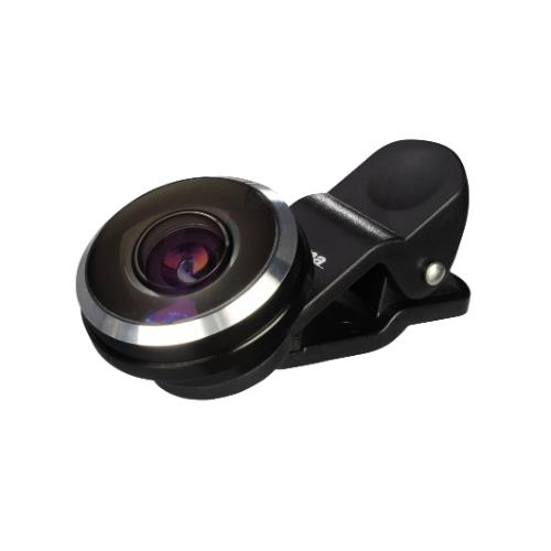 Hama Fish Eye Lens for Smartphones and Tablets 235 degree, clip on