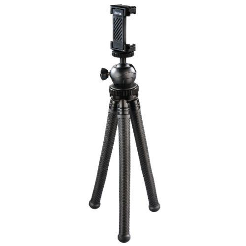 Hama FlexPro for Smartphone, GoPro and Cameras Black Tripod 27cm