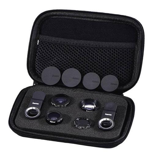 Hama 5 in1 Universal Lens Kit for Smartphones - Ex Display