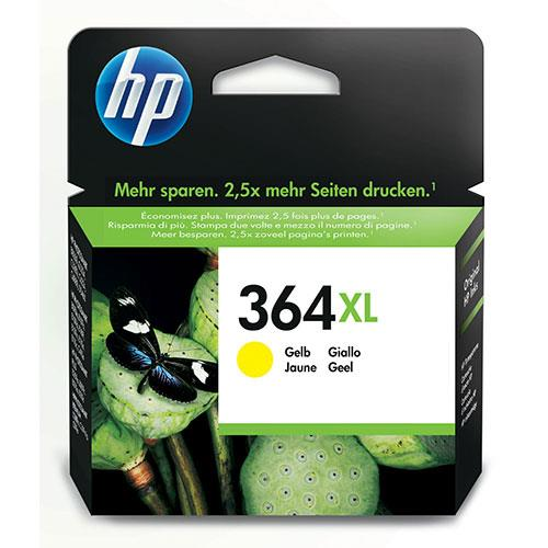 HP 364XL High Yield Yellow Original Ink Cartridge
