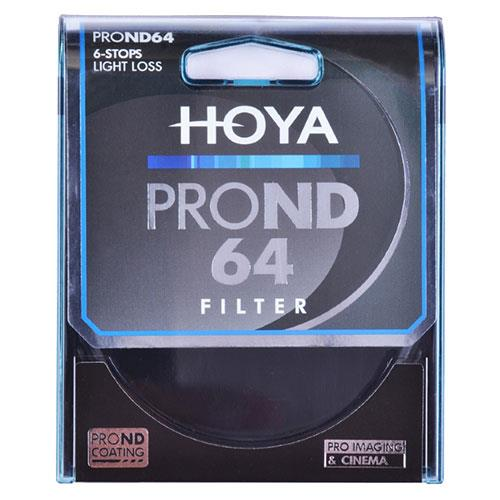 Hoya 55mm Pro ND64 Filter