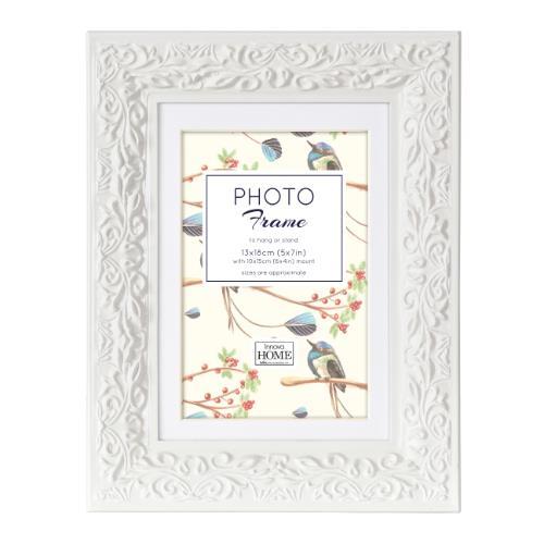 Innova Ariana Wood White Frame 7x5