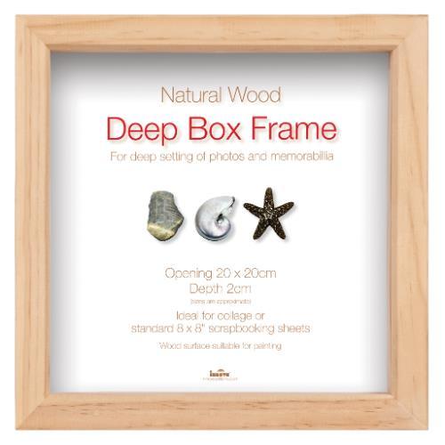 Innova Box Frame 8x8 Natural