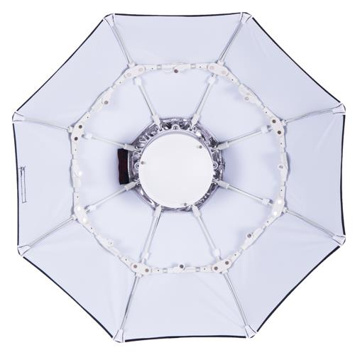 Interfit 28-inch Foldable Beauty Dish with S-Mount - White