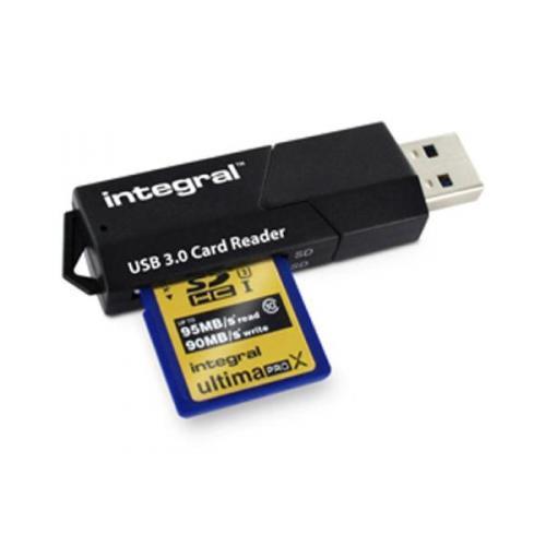Integral USB 3.0 Superspeed Card Reader