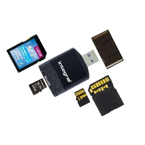 Integral USB 3.0 UHS-II Card Reader