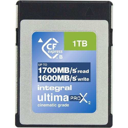 Integral UltimaPro X2 CFexpress Cinematic 1TB 1700MB/s Memory Card