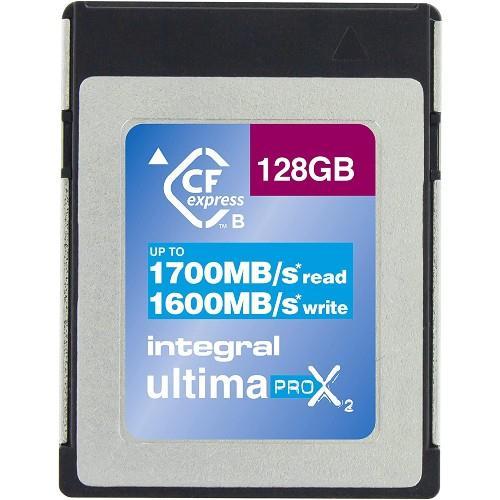 Integral UltimaPro X2 CFexpress 128GB 1700MB/s Memory Card