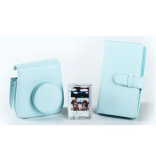 Instax Mini 9 Instant Camera Accessory Kit in Ice Blue