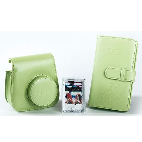 Instax mini 9 accessory kit in Lime Green