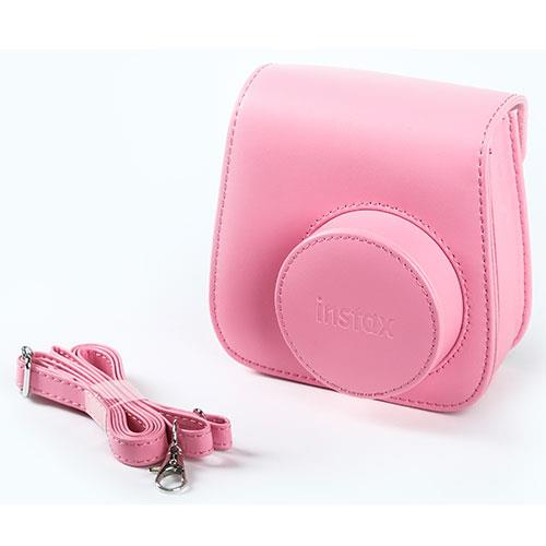 Instax Mini 9 Case in Flamingo Pink