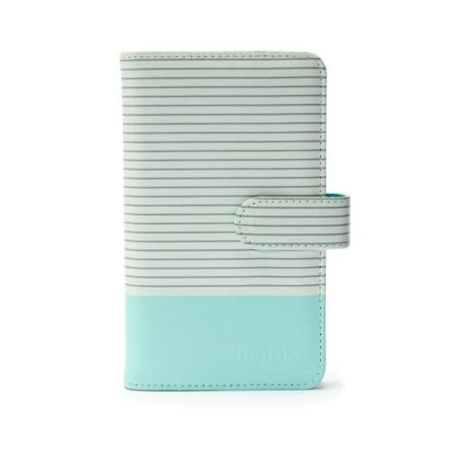 Instax Mini 9 Striped Photo Album in Ice Blue