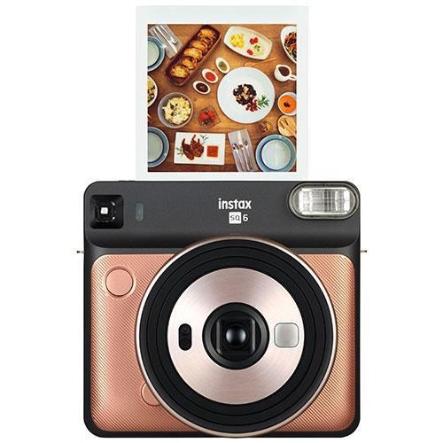 instax Square SQ6 Instant Camera in Blush Gold