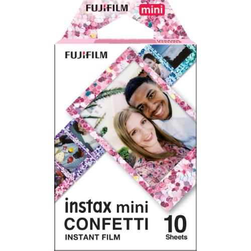 Instax Mini Film Confetti, 10 Shot Pack