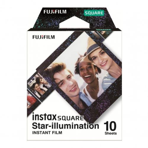 Instax Square Film, Star Illumination, 10 Shot Pack