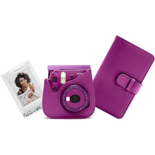 Instax Mini 9 Instant Camera Accessory Kit in Purple