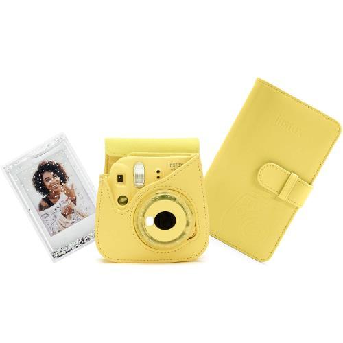 Instax Mini 9 Instant Camera Accessory Kit in Yellow