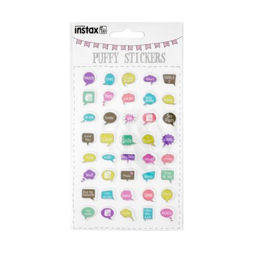 Instax Puffy Sticker Sheet Speech Bubble