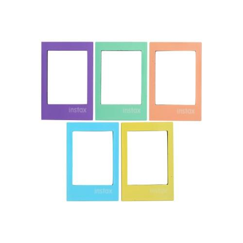 Instax Magnetic Frame 5 pack Pastel