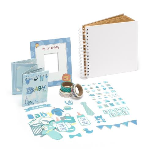 Instax mini Baby 1st Year Bundle - Blue