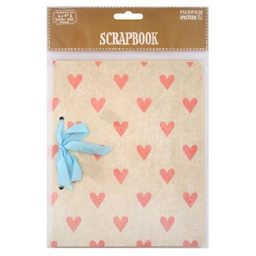 instax Scrapbook Gift Pink Hearts - Ex Display