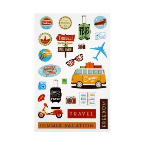 instax Sticker Sheet Travel - Ex Display