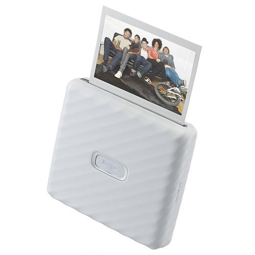 instax Link Wide Printer in Ash White