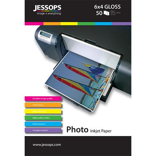 Jessops Inkjet 6x4 Gloss Photo Paper 240gsm - 50 Sheets