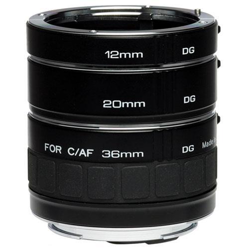 Kenko DG AF Extension Tube Set 12-20-36 Canon Fit