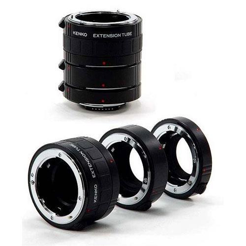 Kenko DG AF Extension Tube Set 12-20-36 Nikon Fit
