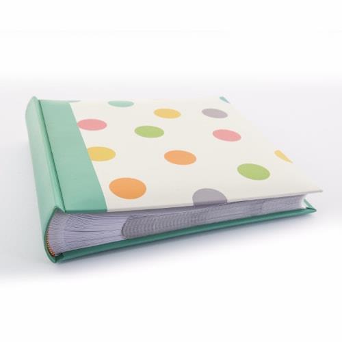 Kenro Candy Memo Album 200 6x4' - Spots