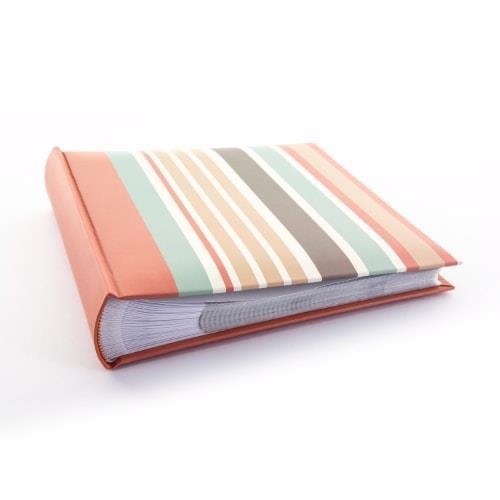 Kenro Candy Memo Album 200 6x4' - Stripes